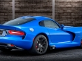 2015 Dodge Viper SRT GTS in competition blue