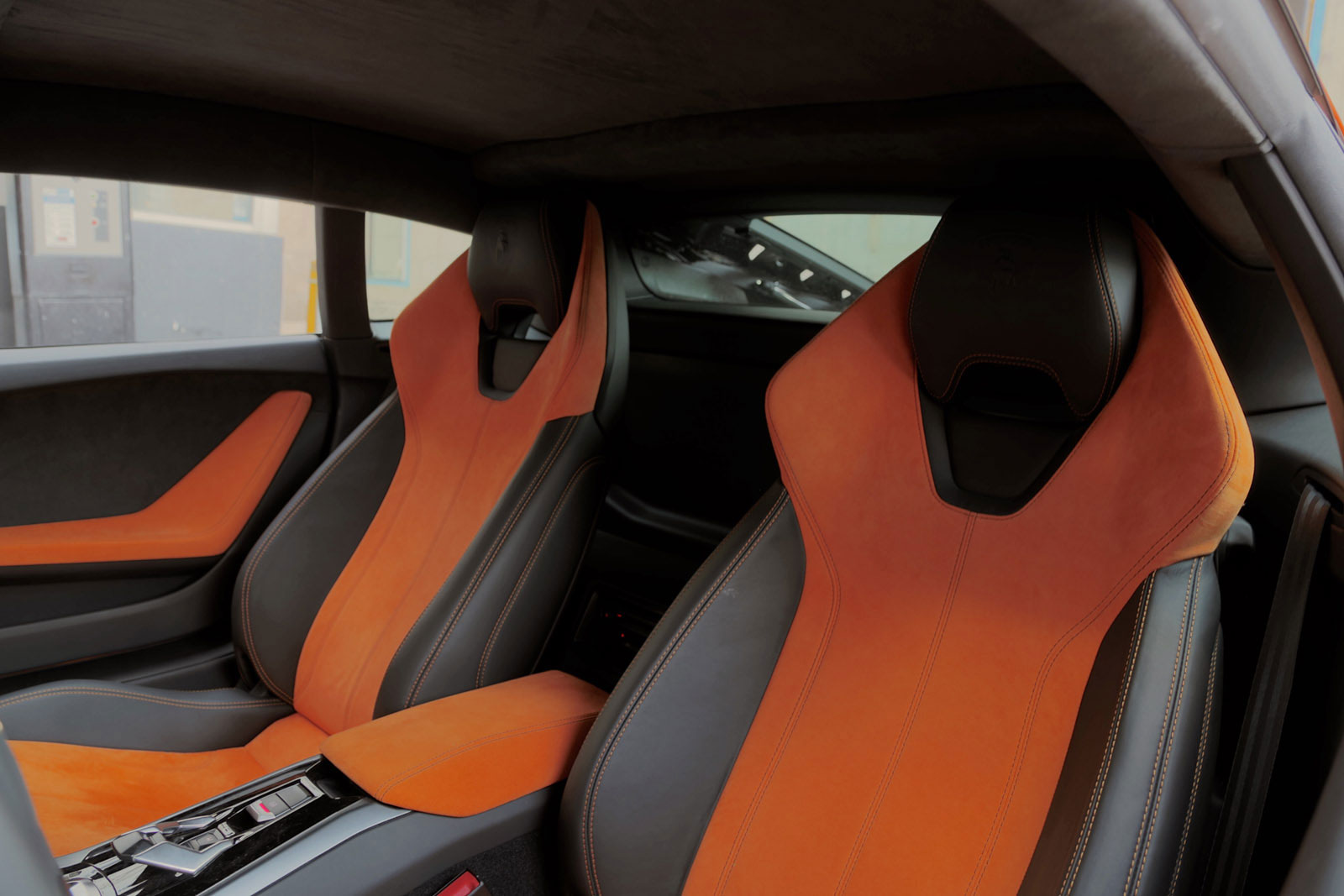 How many seats does a lamborghini have