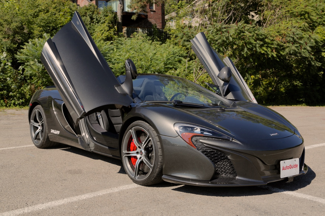 Instant Car Loan >> 2015 McLaren 650S Spider Review - AutoGuide.com