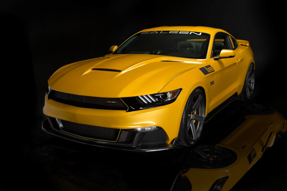 2015 Saleen 302 Black Label Mustang Packs 730 HP » AutoGuide.com News