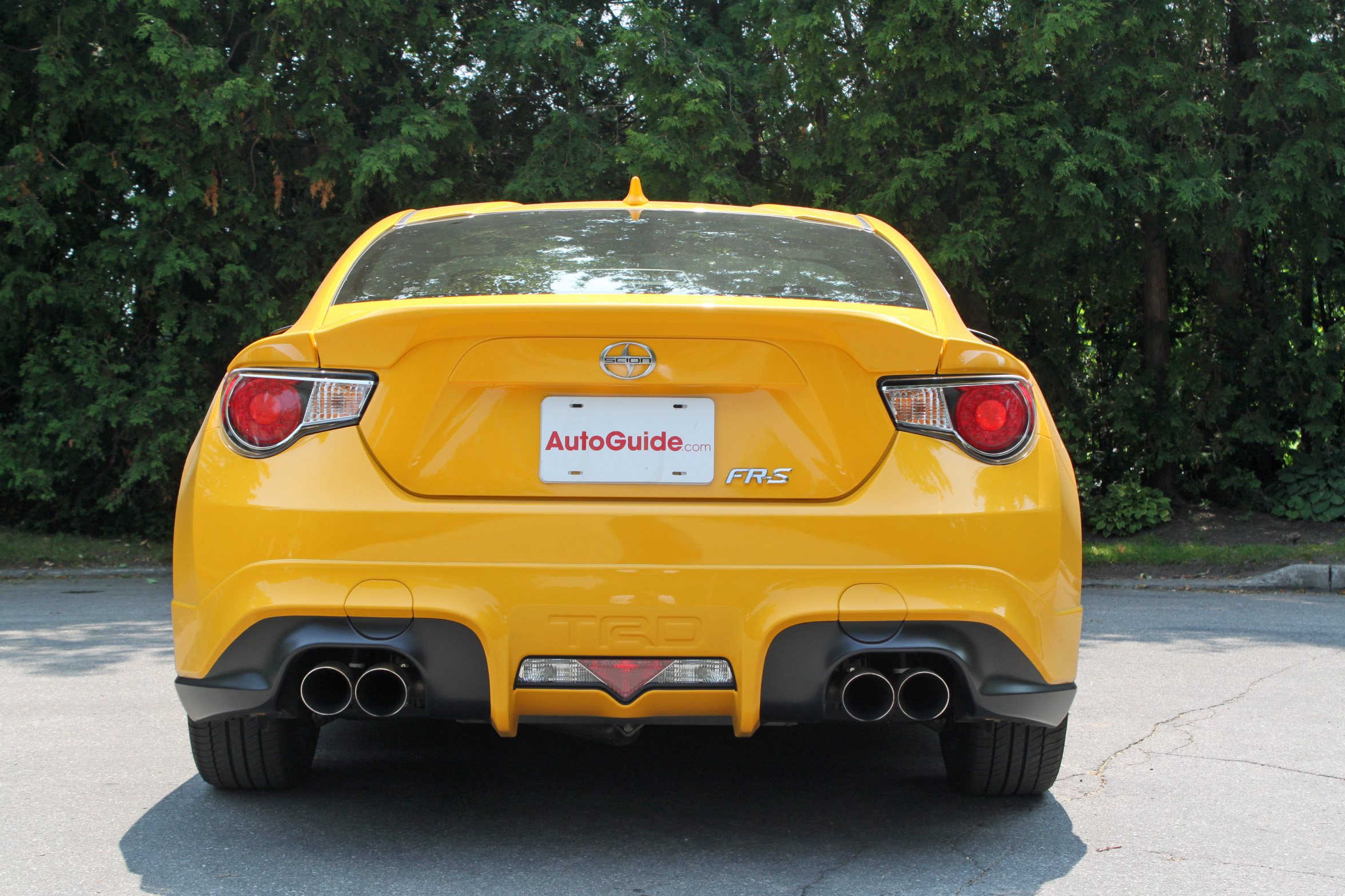 ... 2015 Scion Fr S Release Series Review Rear  ...