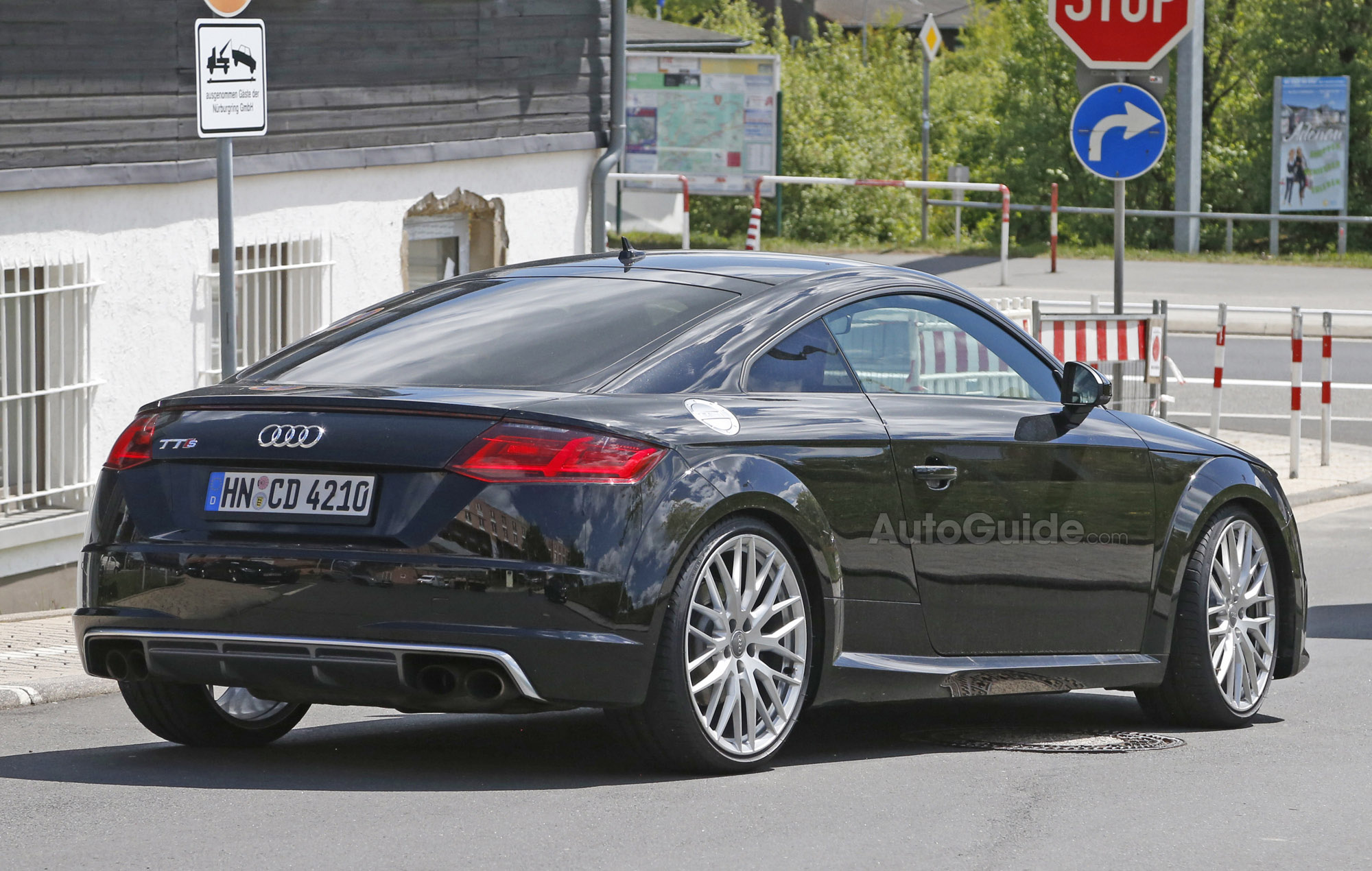 2016 Audi Tt Rs Spy Photo Rear 04