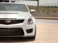 2016 cadillac ats-v review grille