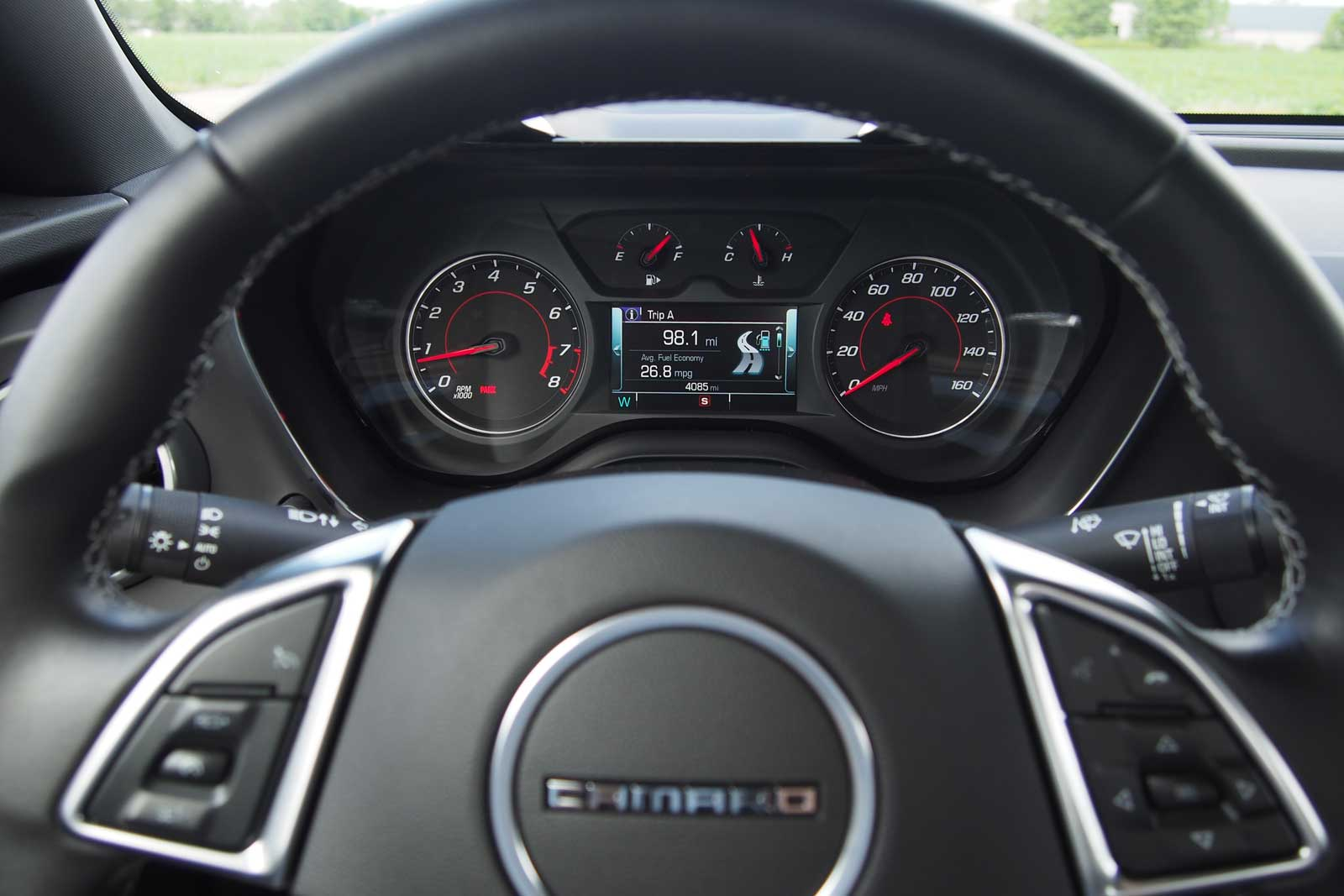 2016 Chevrolet Camaro 1lt Gauges 02