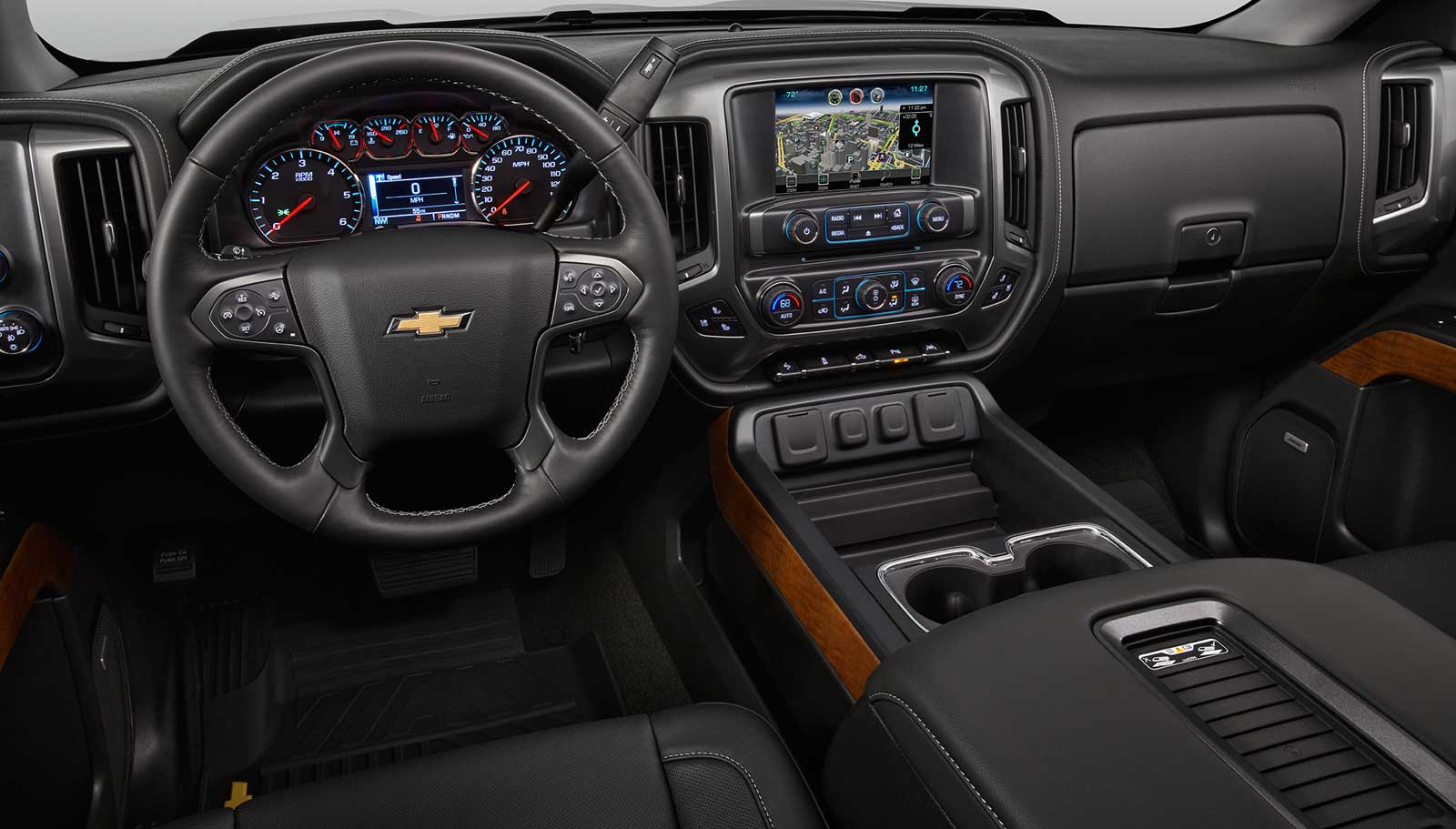 ... Costco 2016 Chevrolet Silverado Interior 01 ...