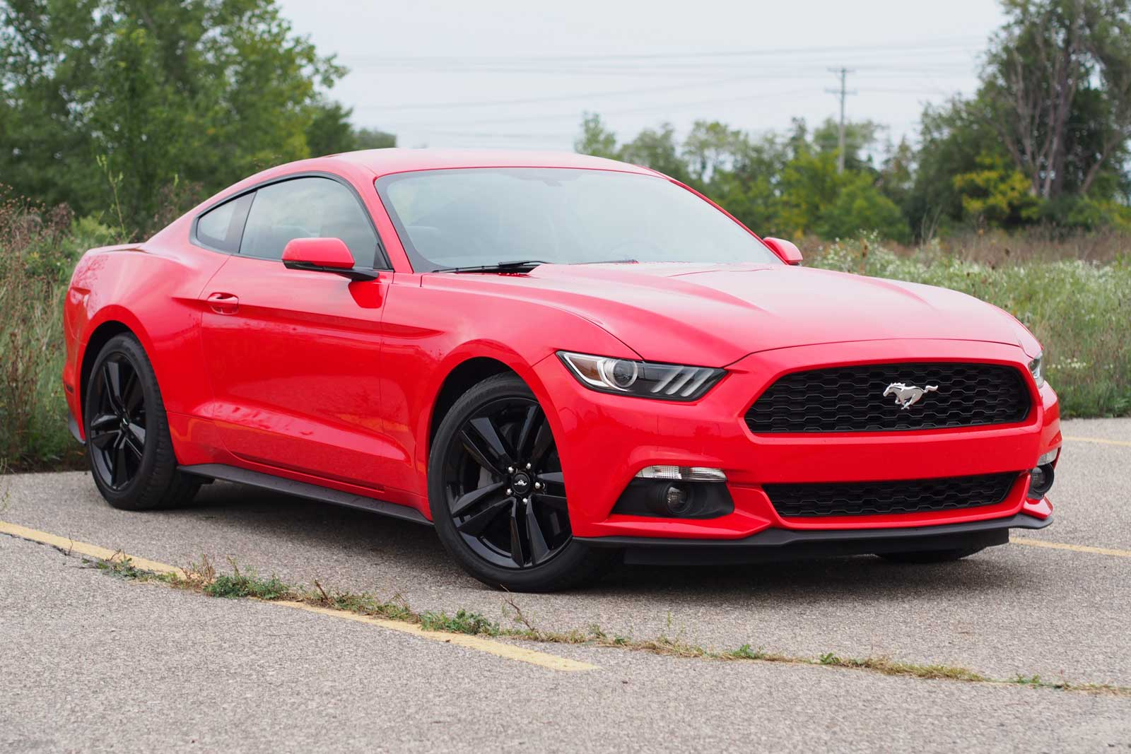 2016 ford mustang ecoboost fastback premium review news. Black Bedroom Furniture Sets. Home Design Ideas