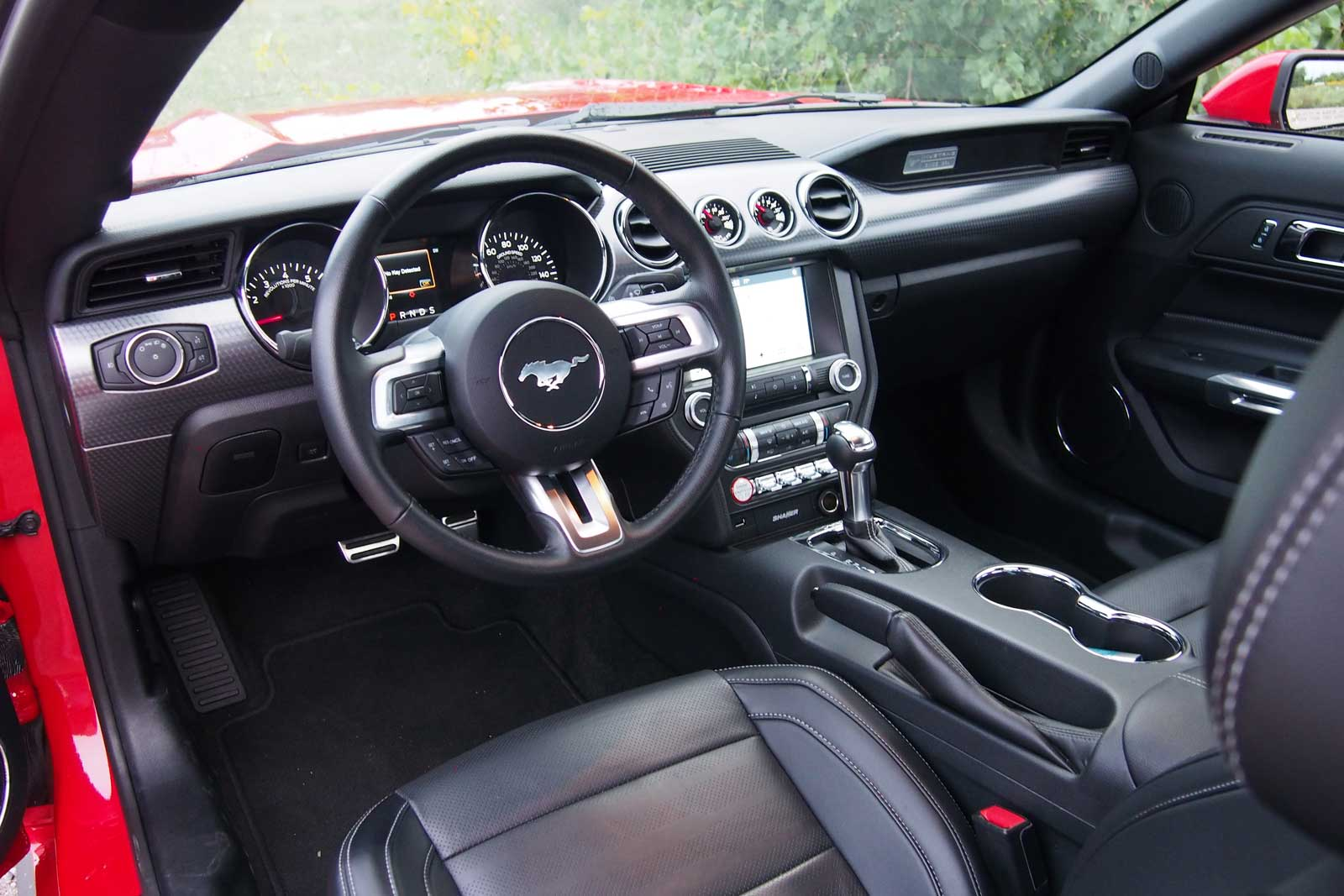 Ford Mustang 2.3 Ecoboost Interior