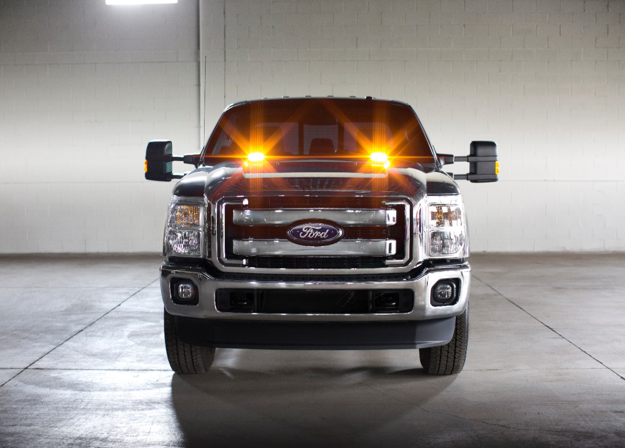 2016 Ford Super Duty Trucks Offer Factory Installed Strobe