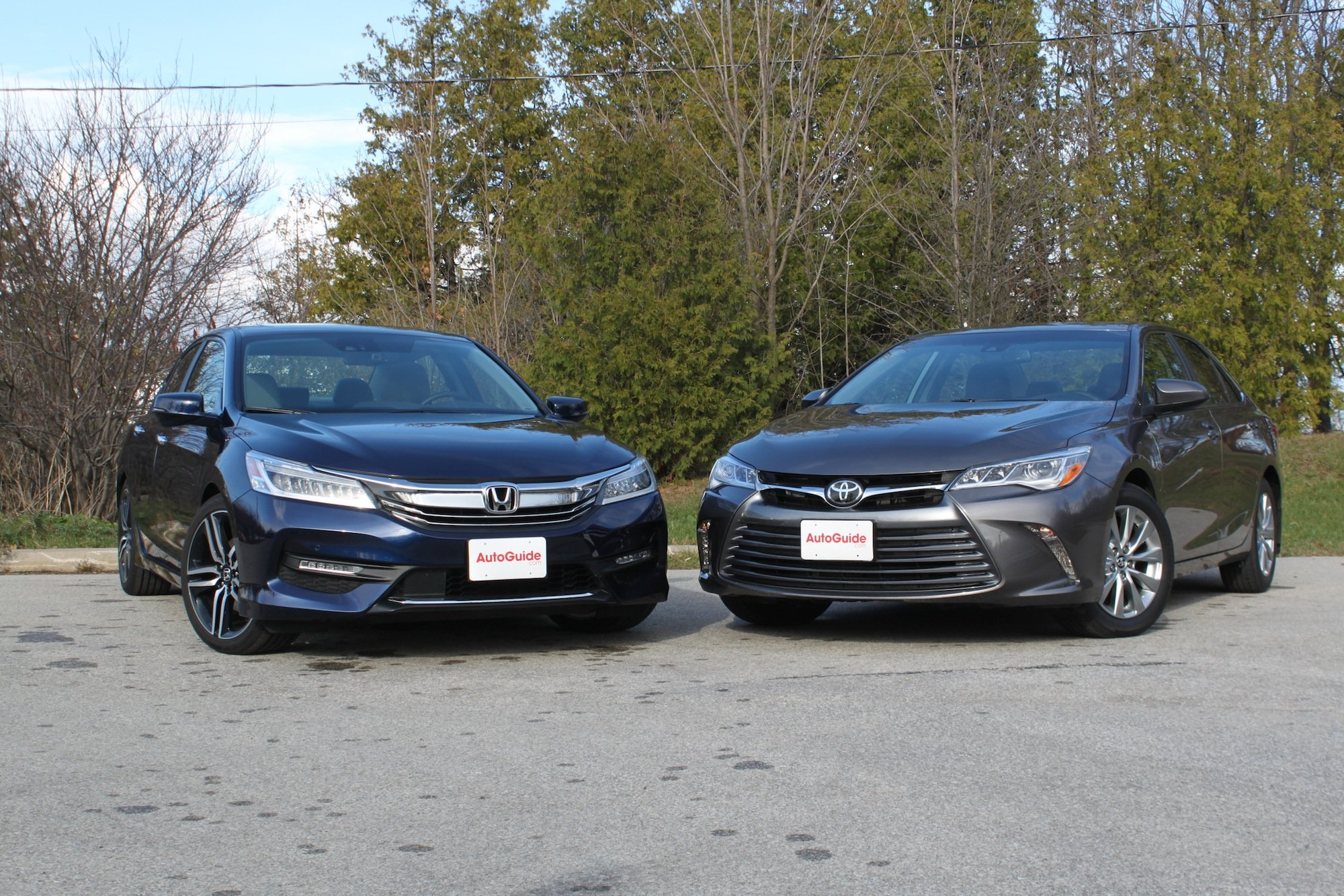 2016 Toyota Camry Vs Honda Accord Comparison 6