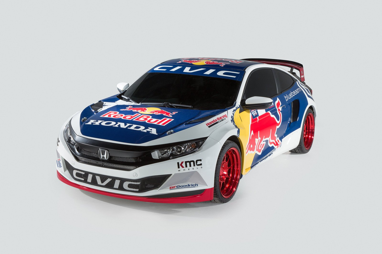 2016 Honda Civic Coupe Set To Compete In Global Rallycross