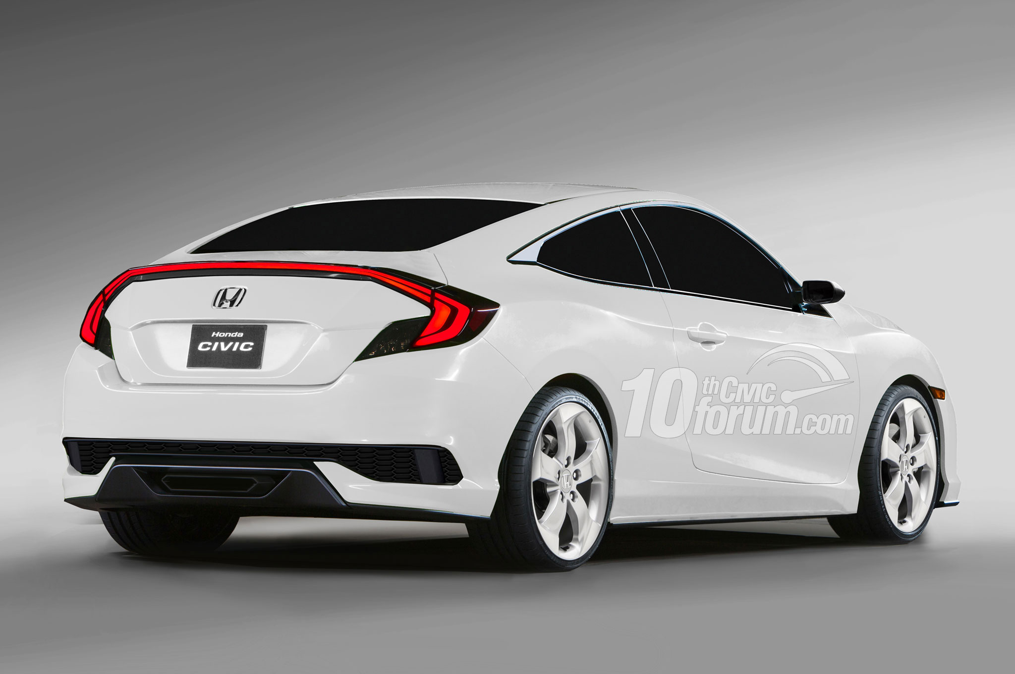 2016 Honda Civic Renderings 1