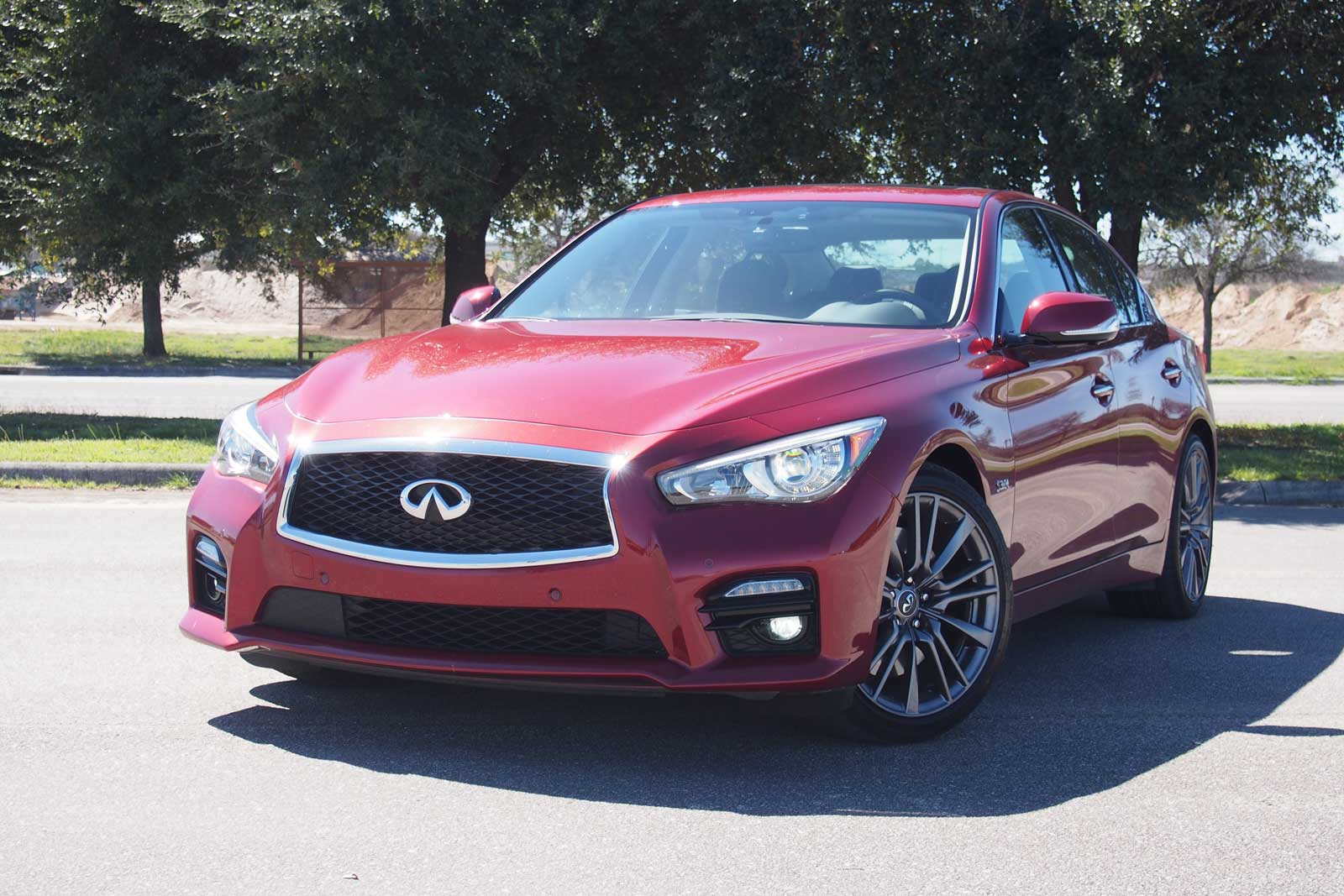 2016 infiniti q50 red sport 400 review. Black Bedroom Furniture Sets. Home Design Ideas