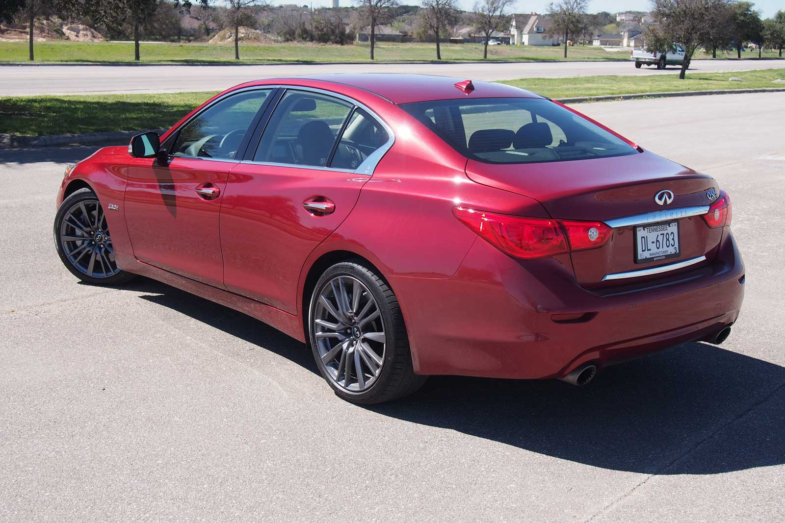 Exceptionnel ... 2016 Infiniti Q50 Red Sport 400 Rear 01 ...