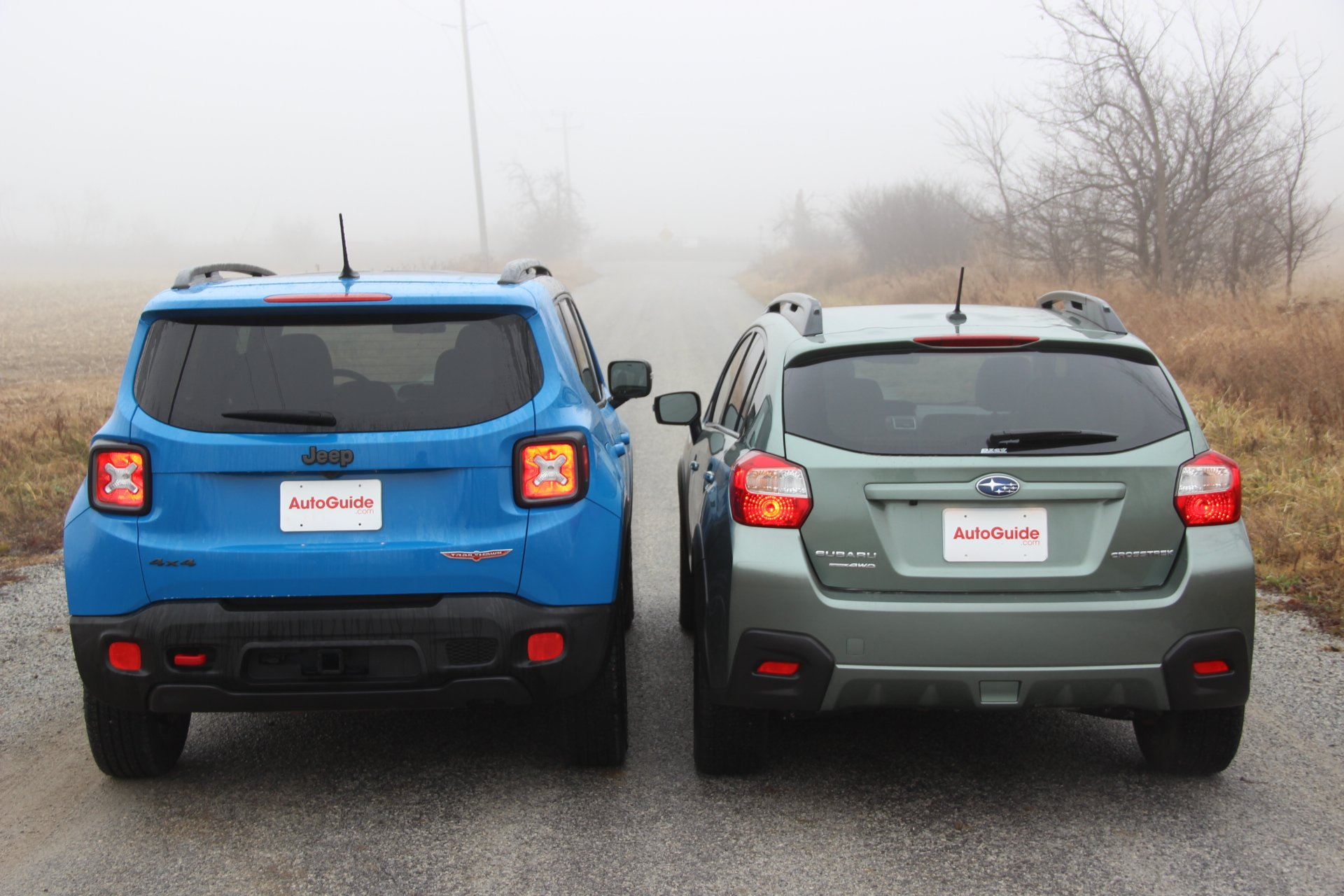 Jeep Renegade Vs Subaru Xv Crosstrek 5