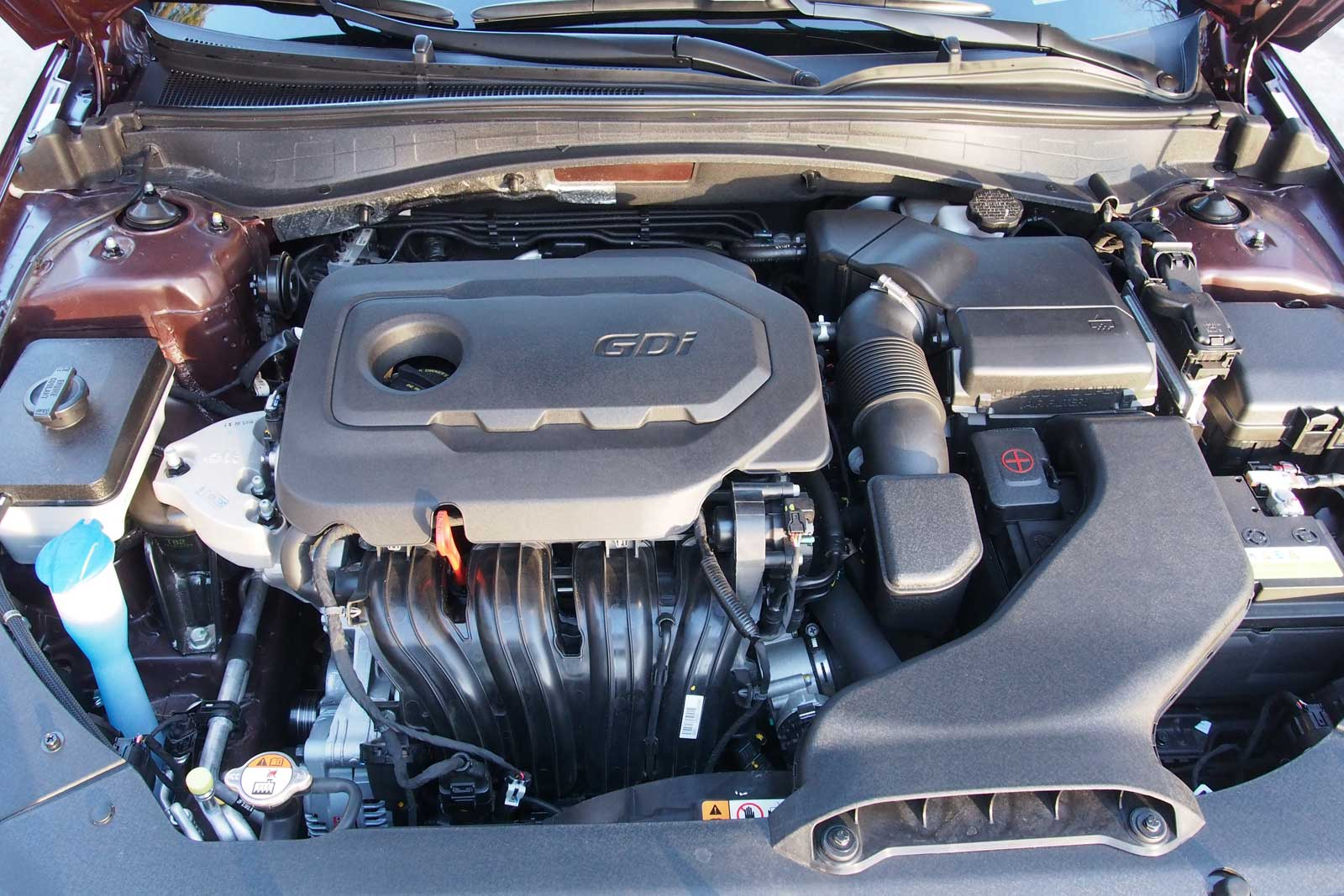 2016 Kia Optima Engine 03