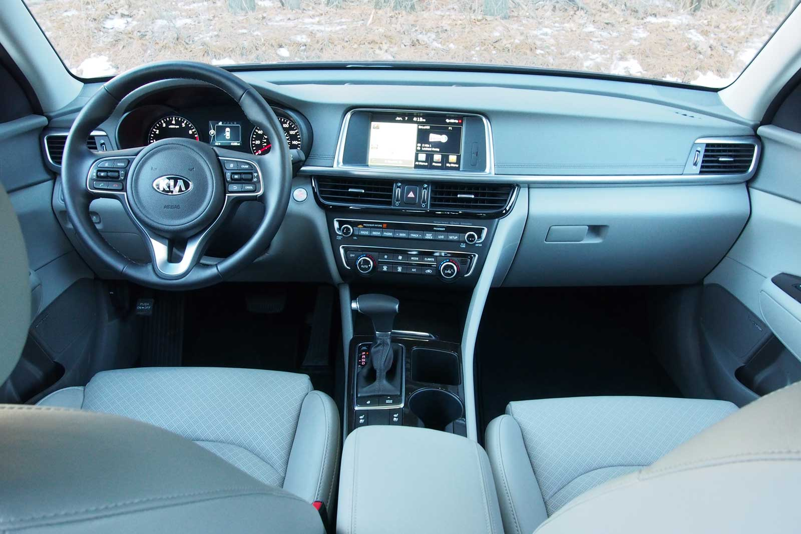 Kia Optima: Interior overview