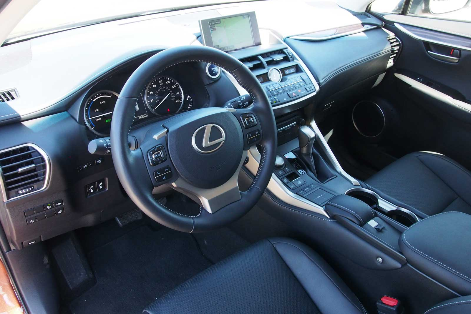 Lexus Nx Interior >> 2016 Lexus Nx 300h Review Curbed With Craig Cole