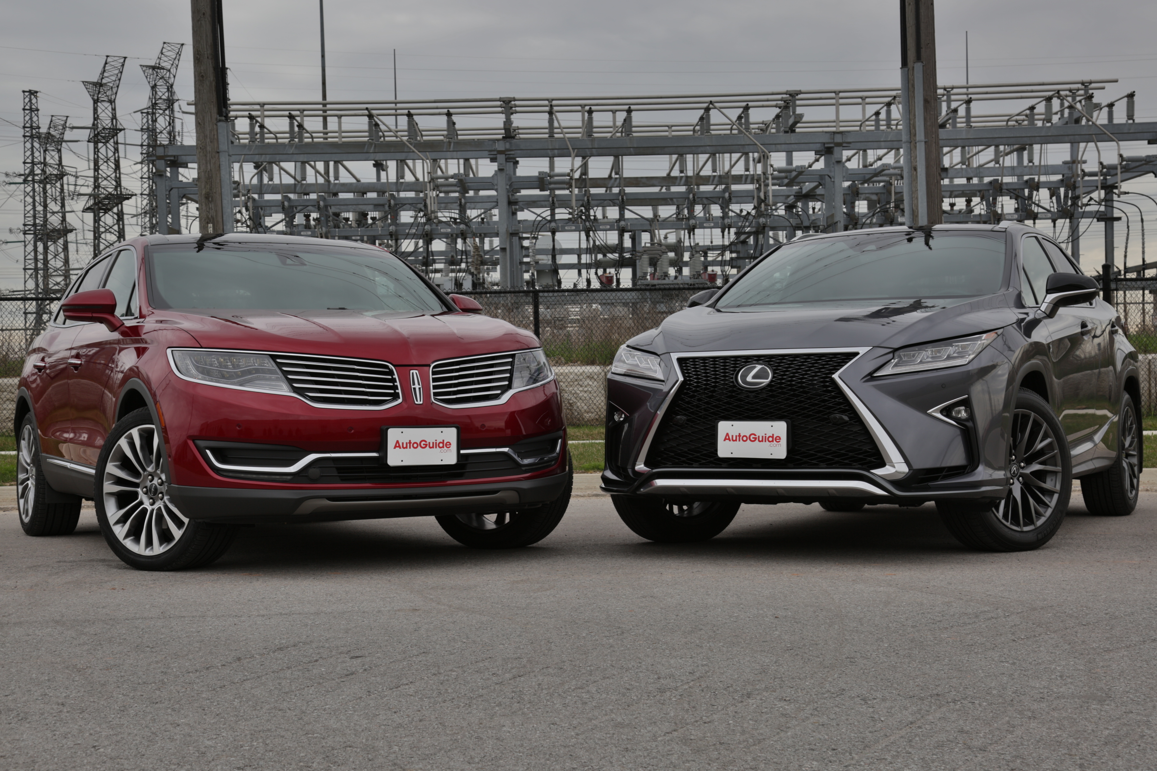 2016 Lexus RX 350 Vs Lincoln MKX
