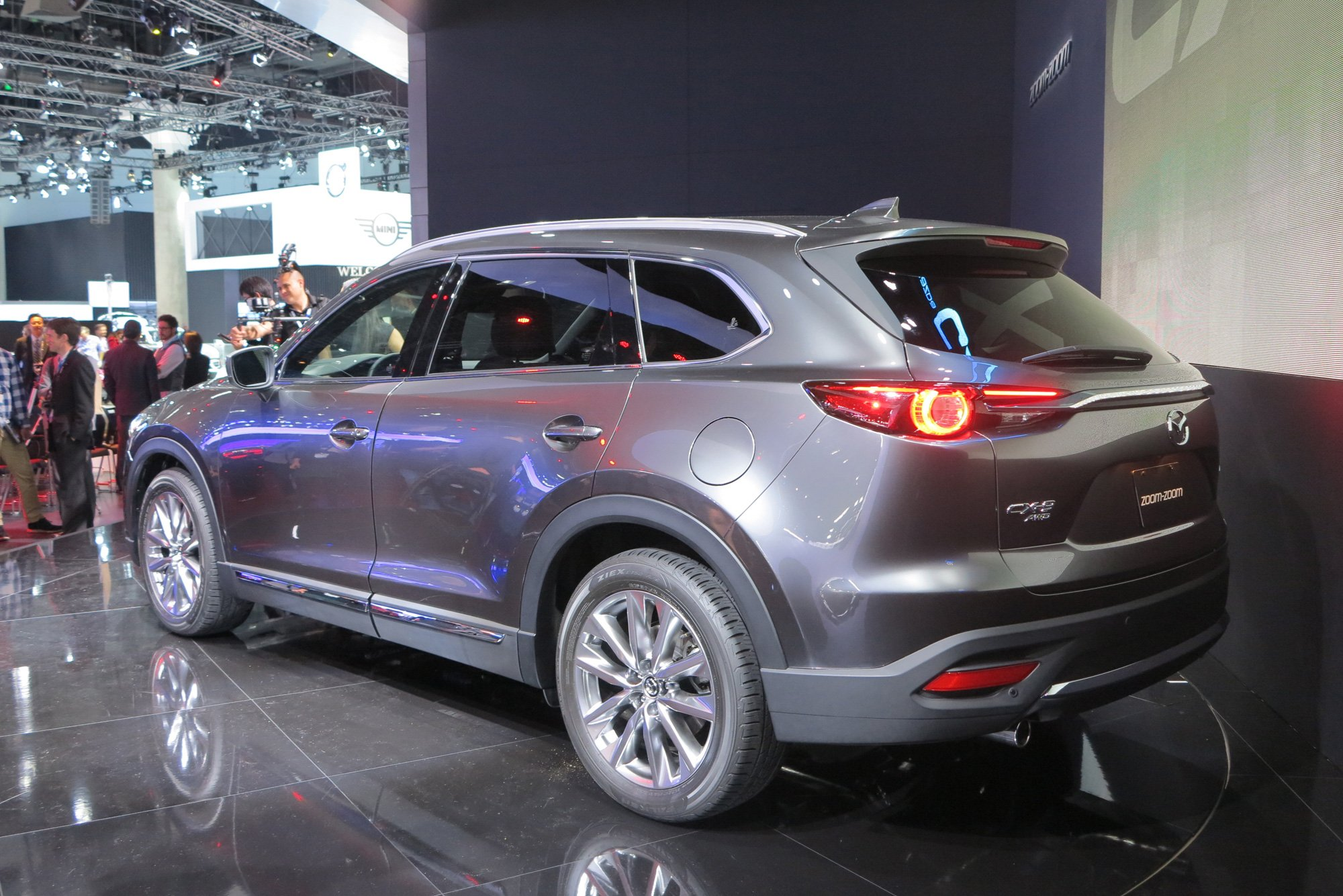 2016 mazda cx 9 review ratings specs prices and photos autos post. Black Bedroom Furniture Sets. Home Design Ideas