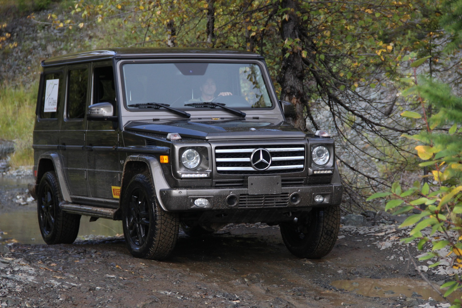 Mercedes benz g class off road review fiat world test drive for Mercedes benz g wagon review