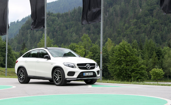 2016 Mercedes Benz Gle Cl Coupe