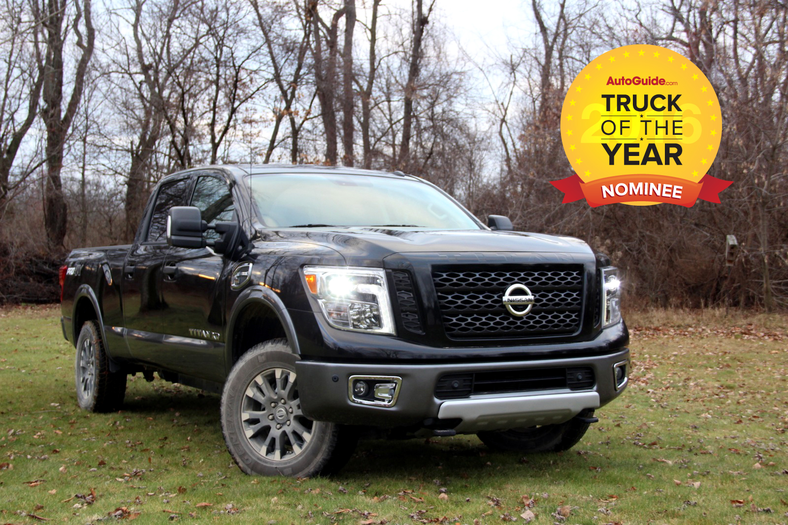nissan titan xd 2016 truck of the year nominee news. Black Bedroom Furniture Sets. Home Design Ideas