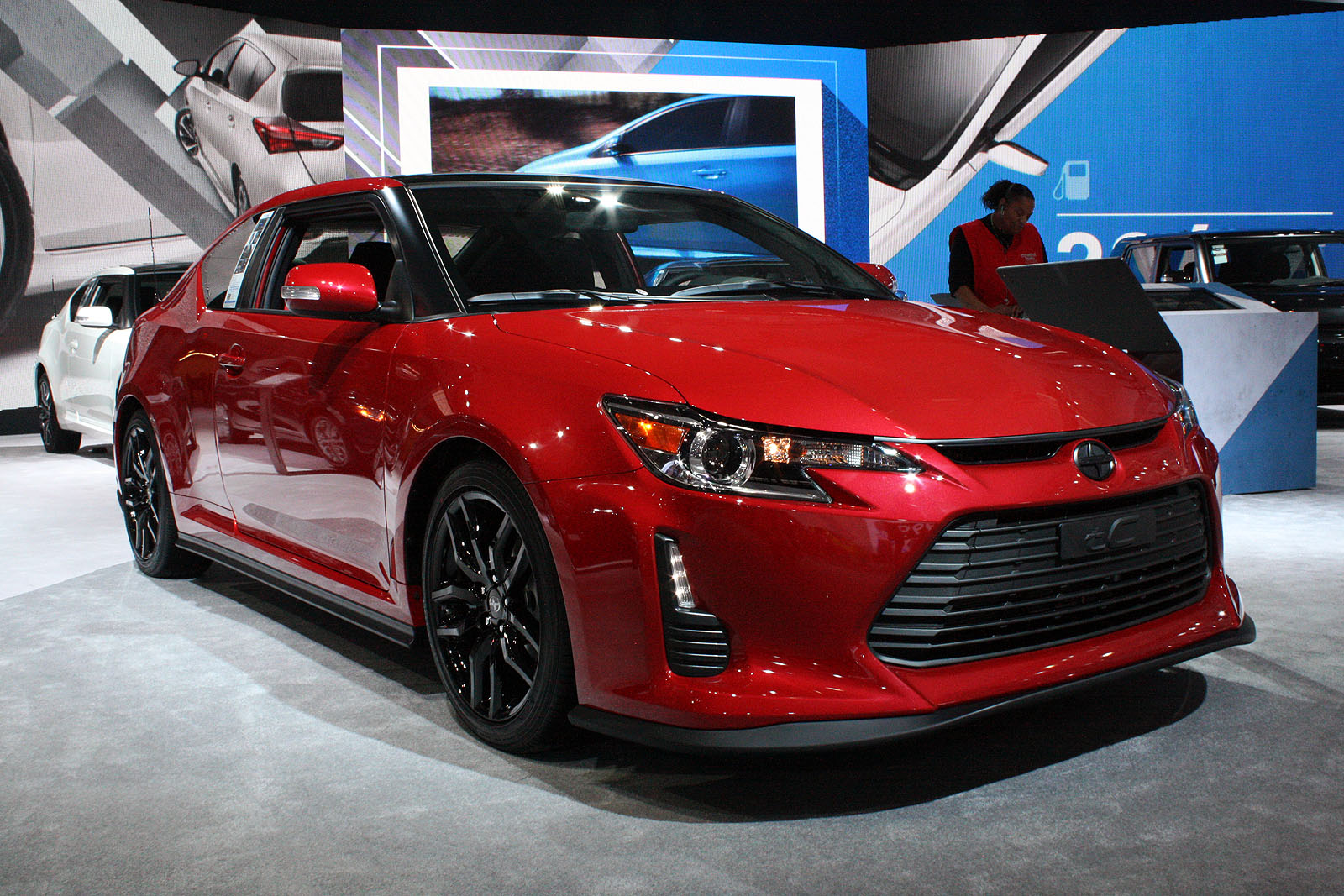 Scion scion tc horsepower : 2017 Scion tC Release Series 10.0 Bids Farewell to Brand ...