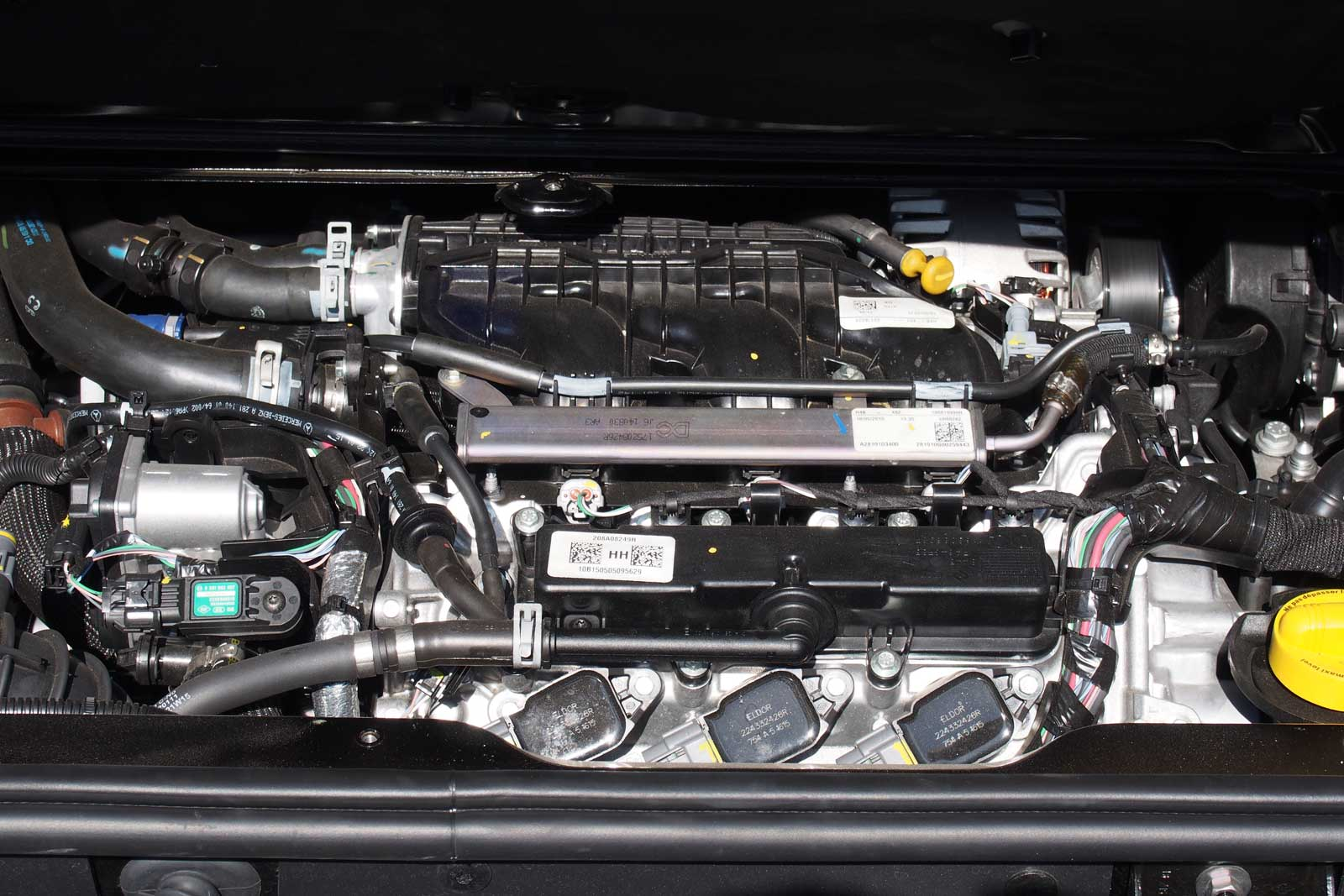 2016 Smart Fortwo Engine 02