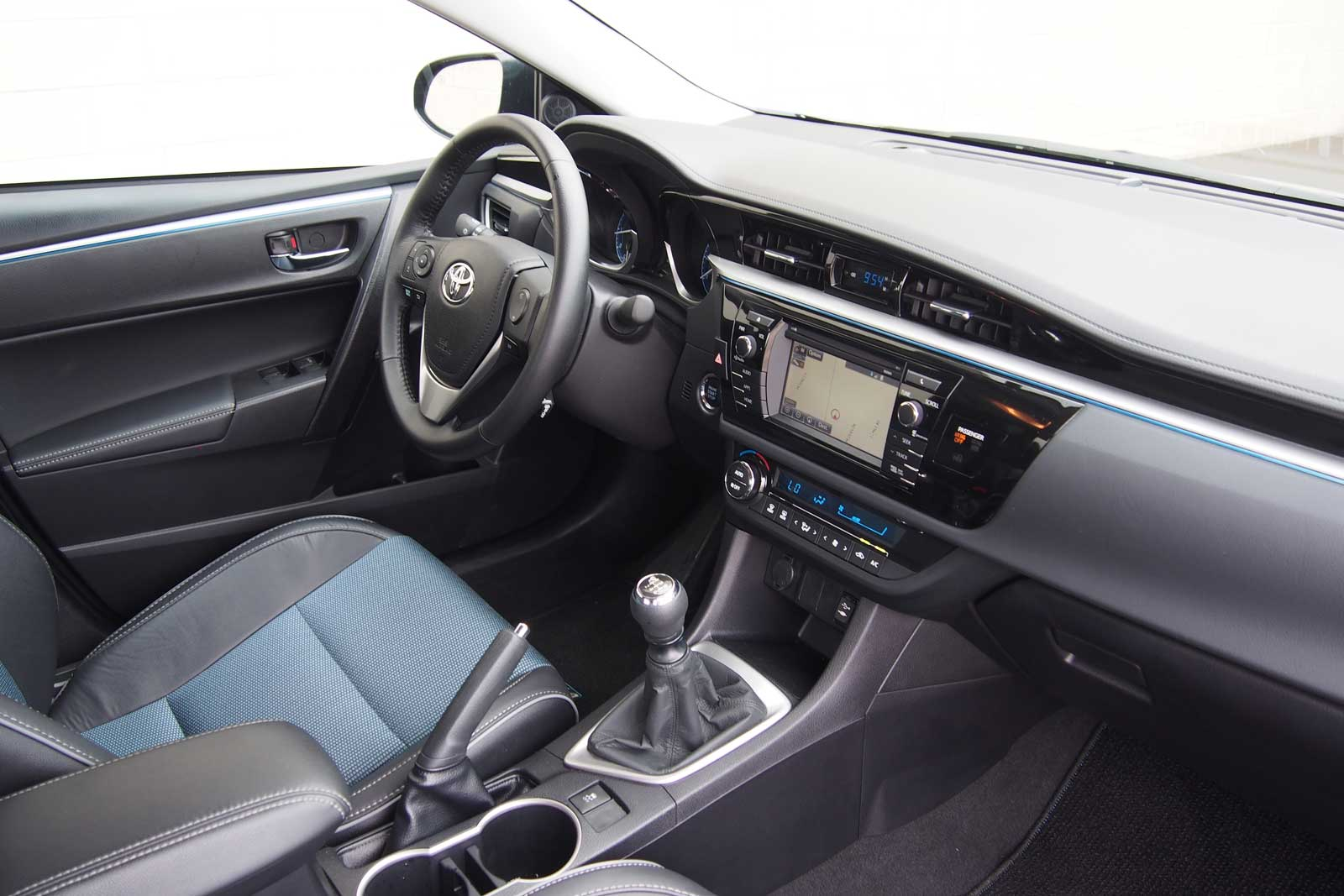 2016 Toyota Corolla S Plus Review Schematic Interior 04