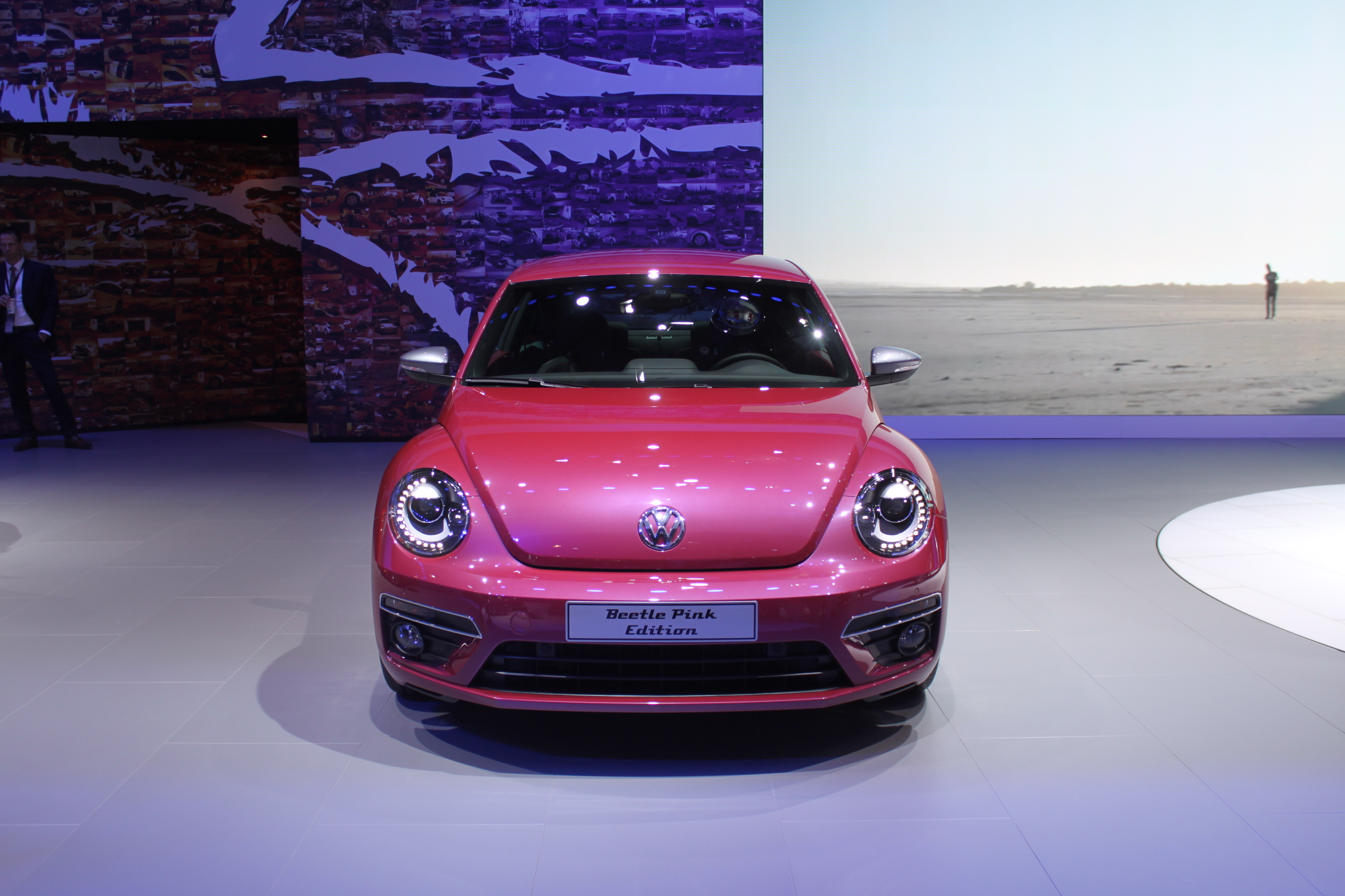 2016 Vw Beetle Pink Edition 2