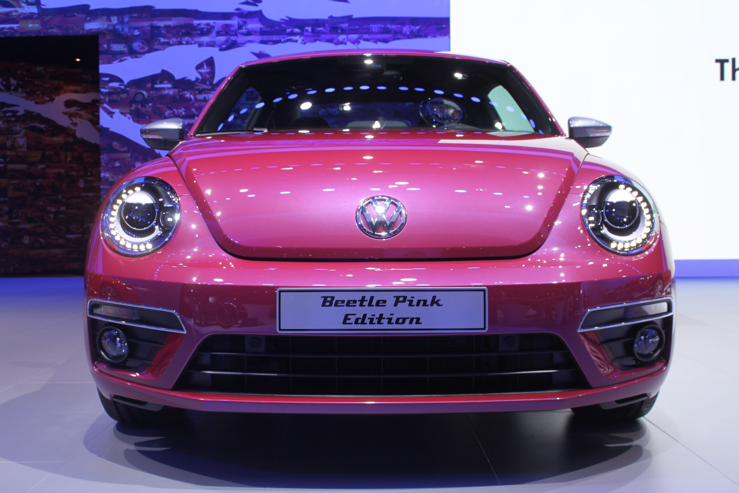 chippy pink photo france beetle owner release ok stock volkswagen vw cox