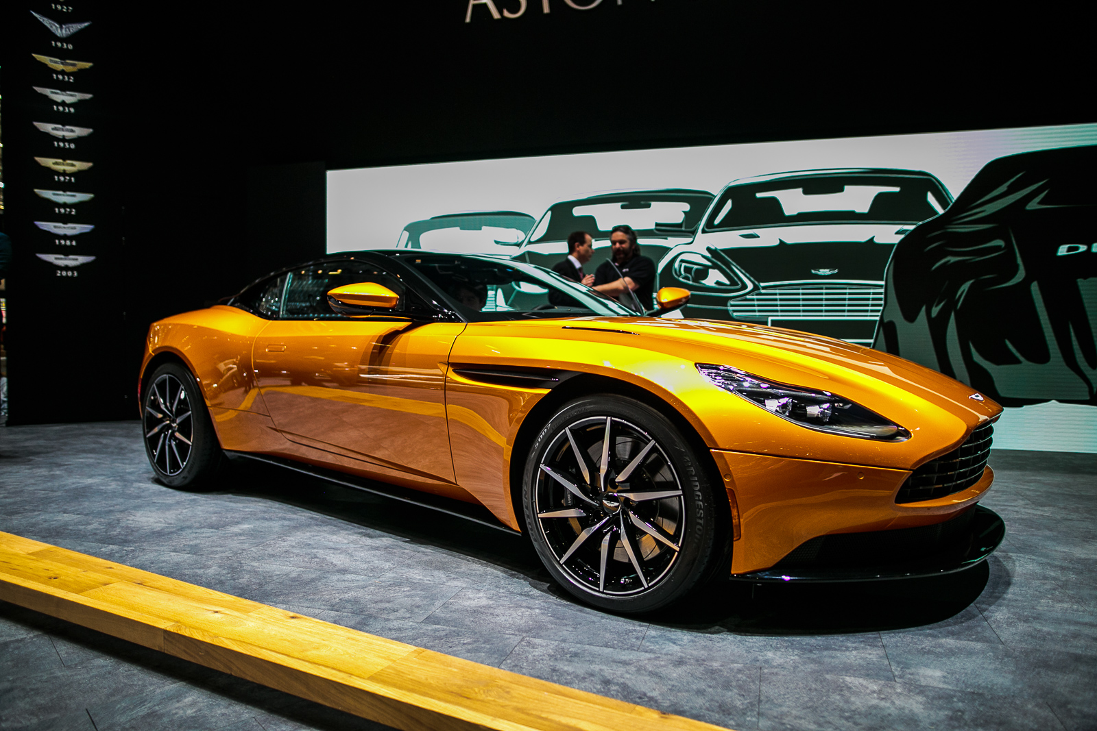 Awesome 2017 Aston Martin DB11 3 ...