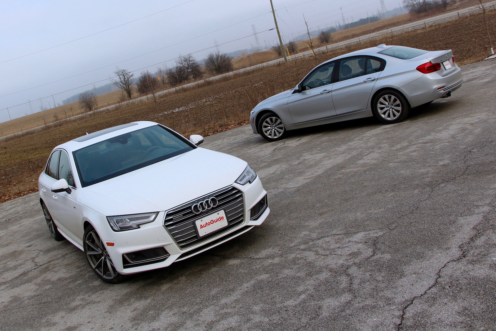 Audi A Vs BMW Series Comparison Review AutoGuidecom News - Audi sedan series