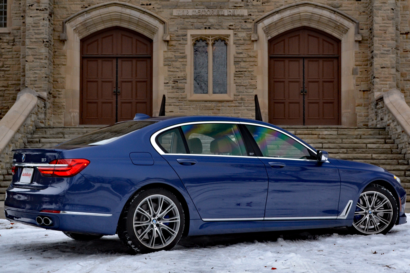 BMW Alpina B Review AutoGuidecom News - Alpina bmw b7