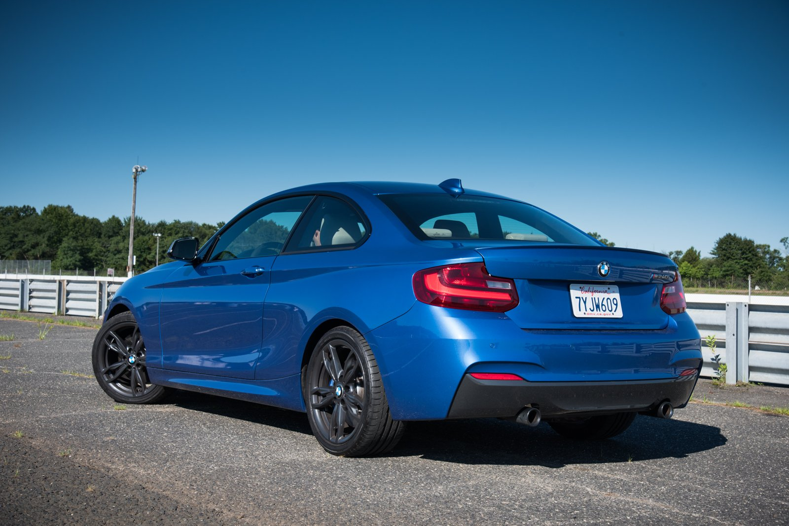 2017-BMW-M240i-Coupe-Rear-Three-Quarter.