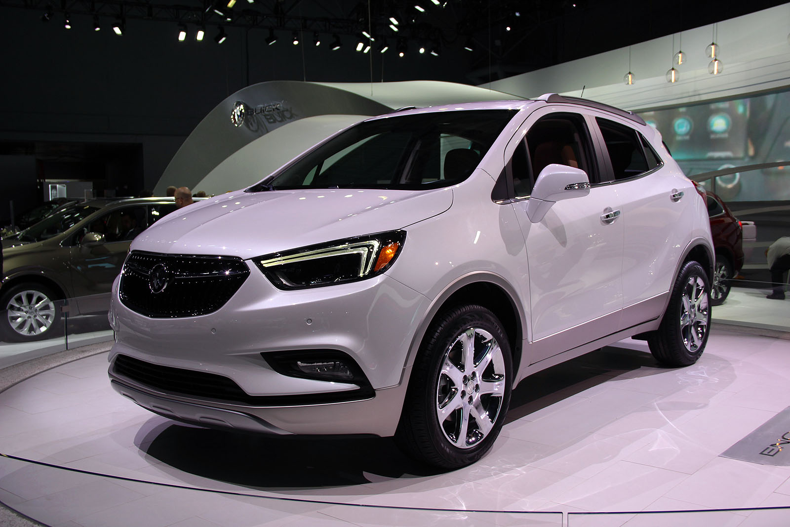2017 Buick Encore Gets Fresh Looks New Tech 187 Autoguide