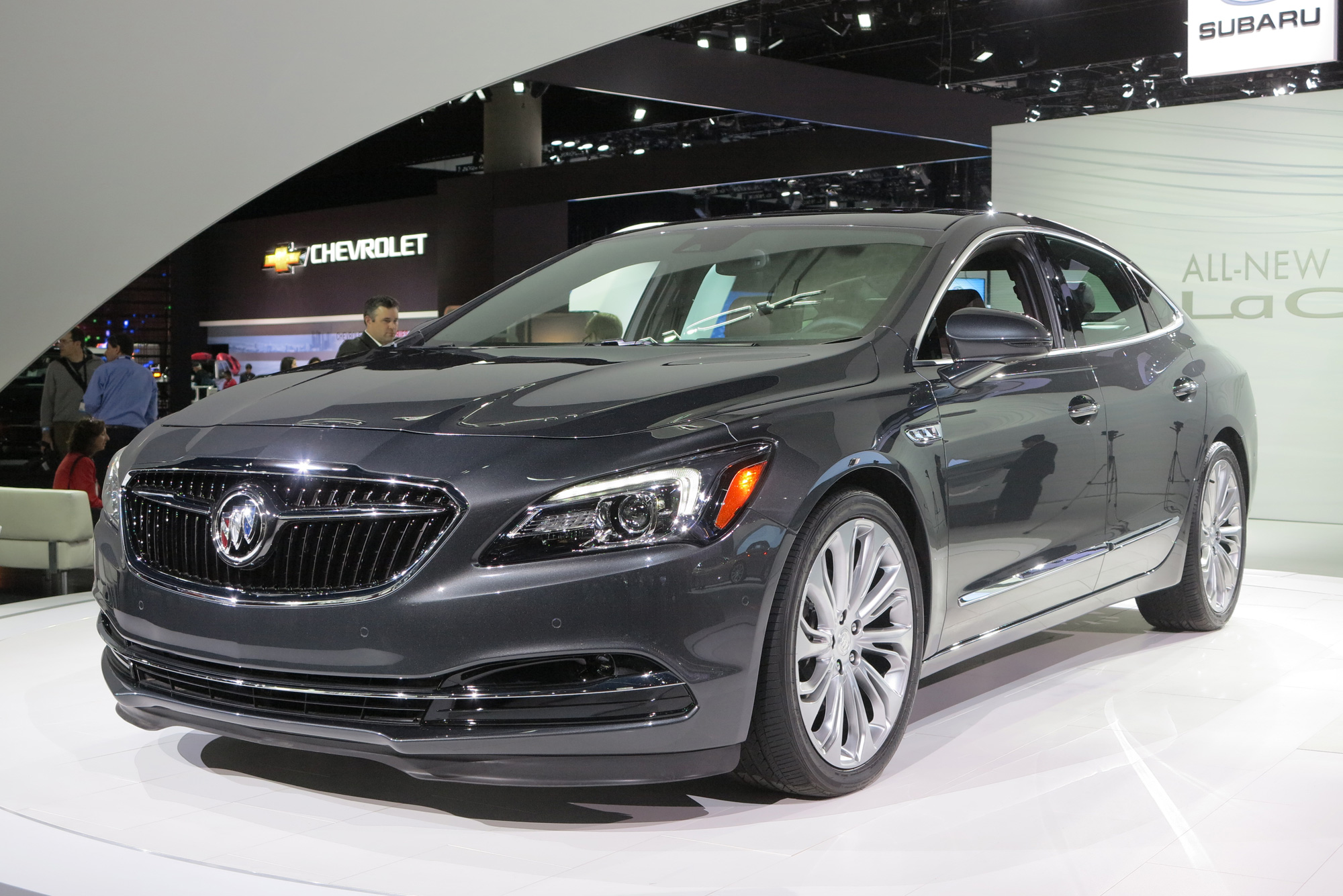 2017 buick lacrosse heading to dealerships in july priced at 32 990 news. Black Bedroom Furniture Sets. Home Design Ideas