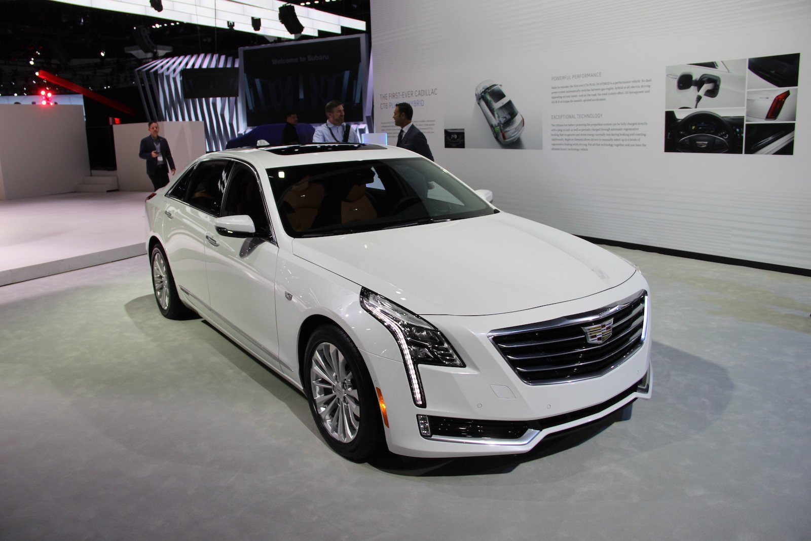 2017 cadillac ct6 plug in hybrid good for 30 miles of electric driving news. Black Bedroom Furniture Sets. Home Design Ideas