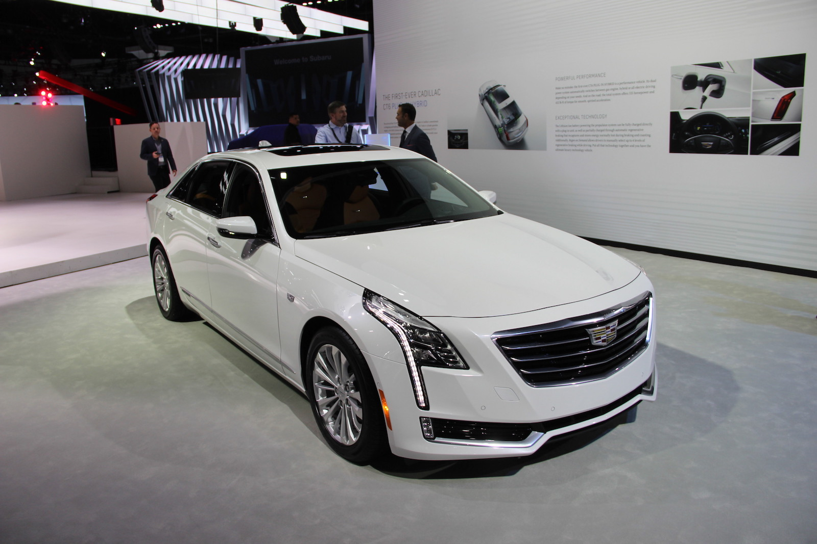 2016 Cadillac Ct6 Is Legit Luxury Autoguide Com News: 2017 Cadillac CT6 Plug-in Hybrid Good For 30 Miles Of