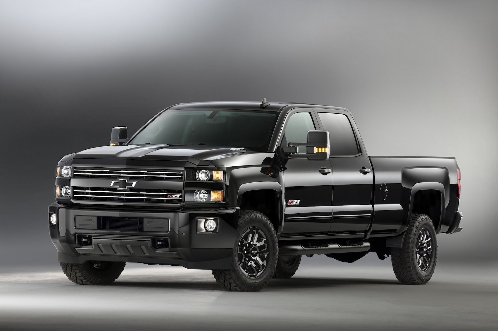 Truck black chevy truck : 2016 Chevy Trucks go Dark with Midnight Editions » AutoGuide.com News