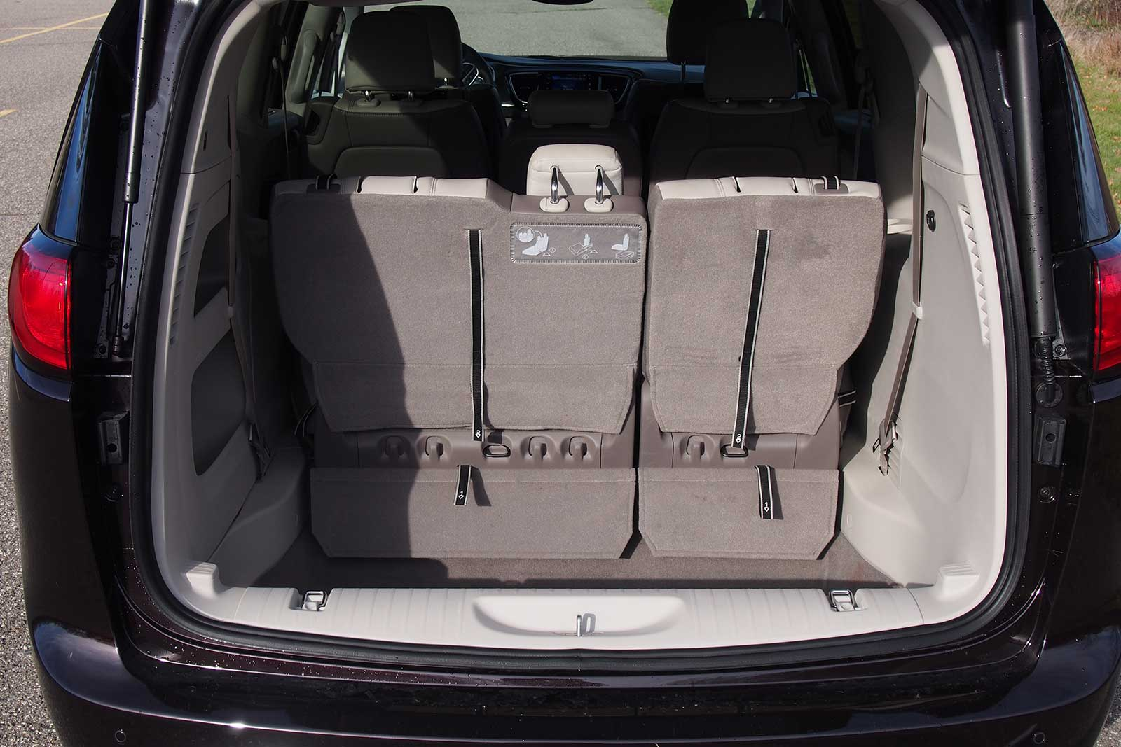 2017 Chrysler Pacifica Touring L Plus Cargo Area