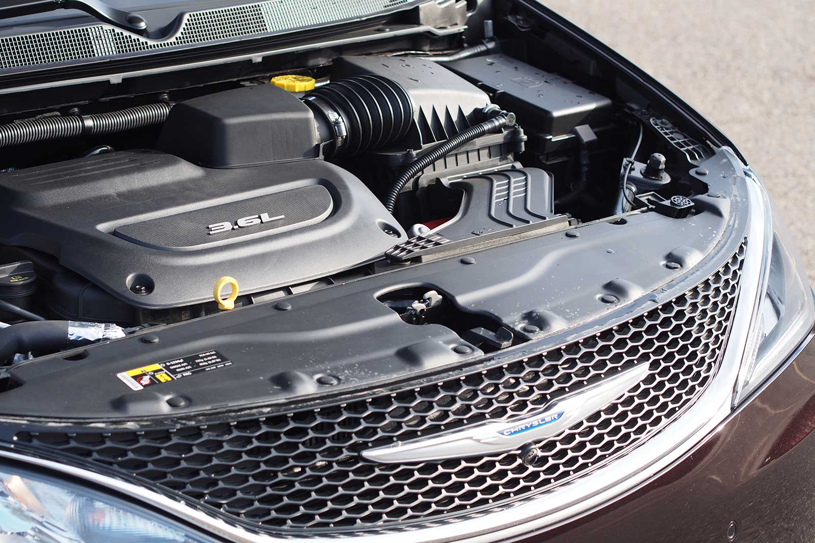 2017 Chrysler Pacifica Touring L Plus Engine 3