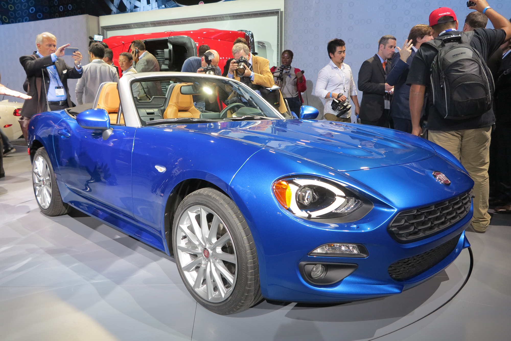 Preferenza Fiat 124 Spider Headed for Rally Racing in 2017 NY42