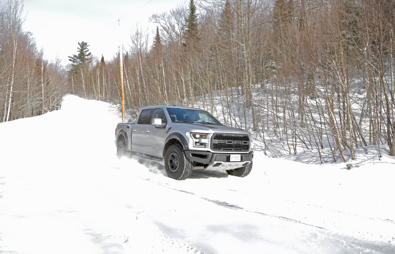 Off Road Trucks For Sale >> 5 Things I Learned Ripping Through the Snow in a 2017 Ford F-150 Raptor » AutoGuide.com News