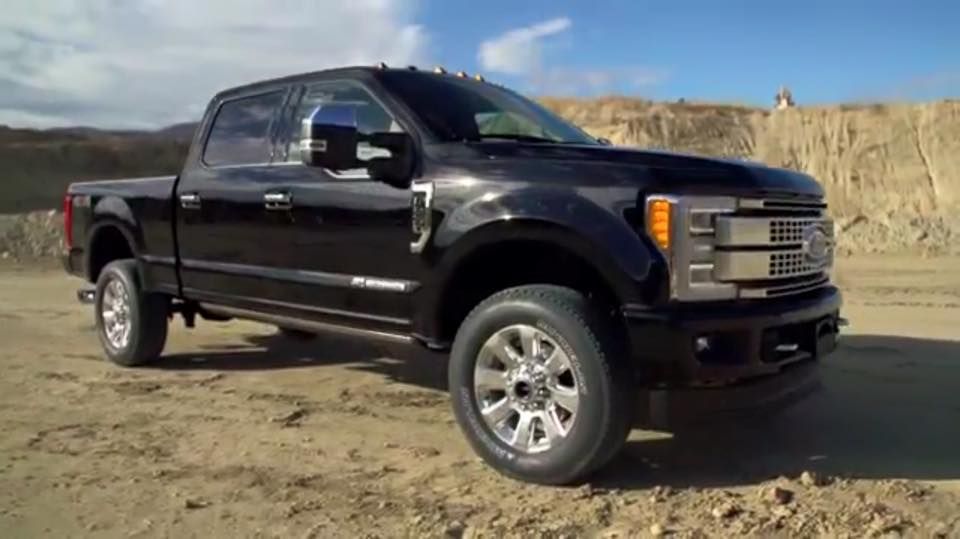 2017 ford f 250 super duty leaks ahead of official reveal. Black Bedroom Furniture Sets. Home Design Ideas