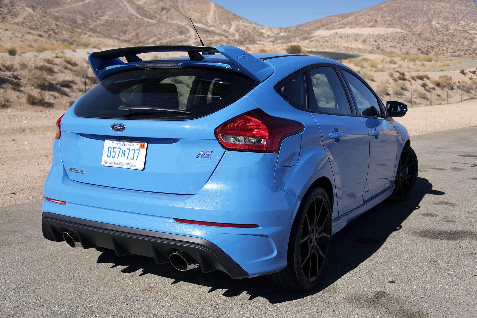 2017 Ford Focus Rs Coty 01