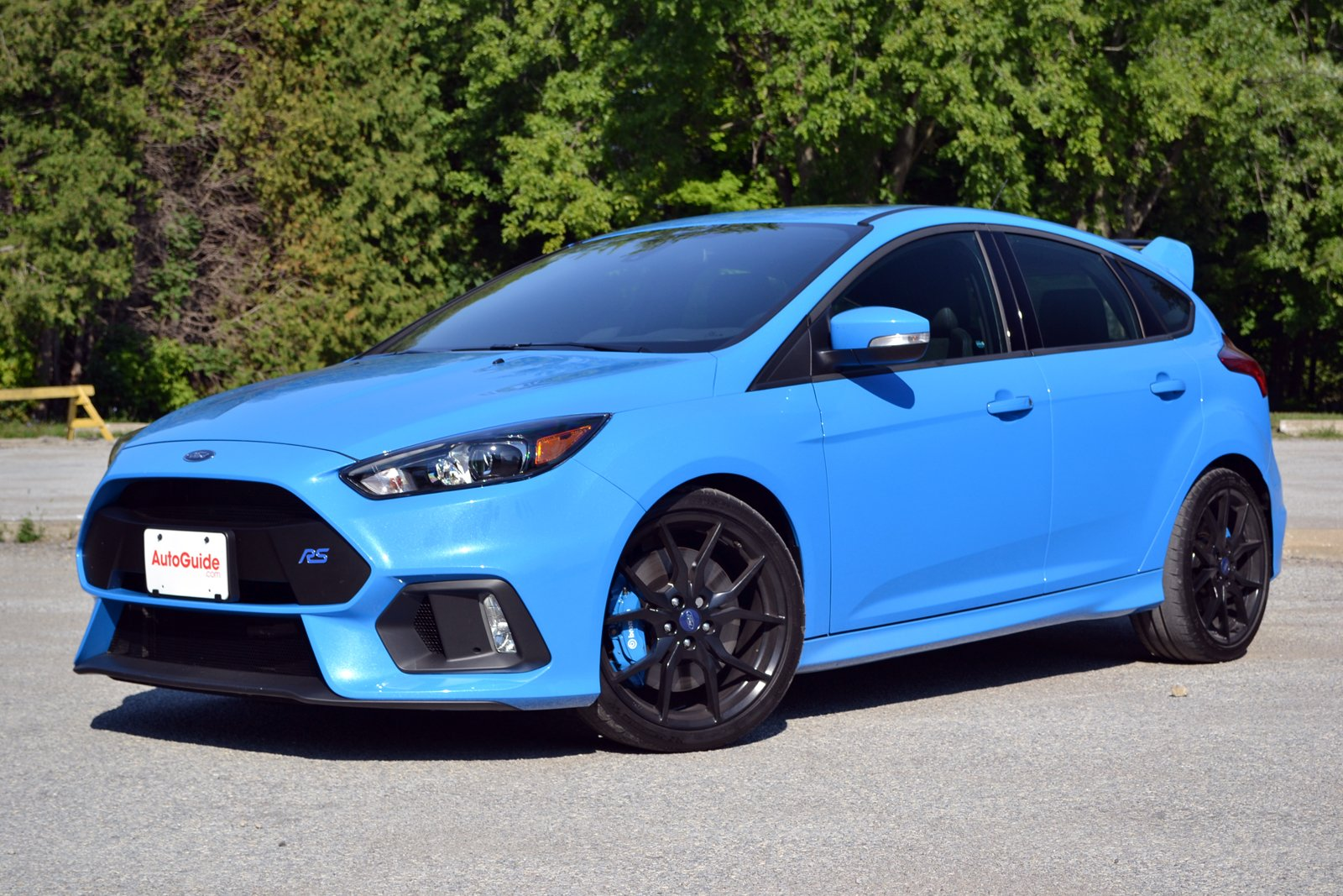 Ford focus rs looks bad and blue in new york city ny daily news.