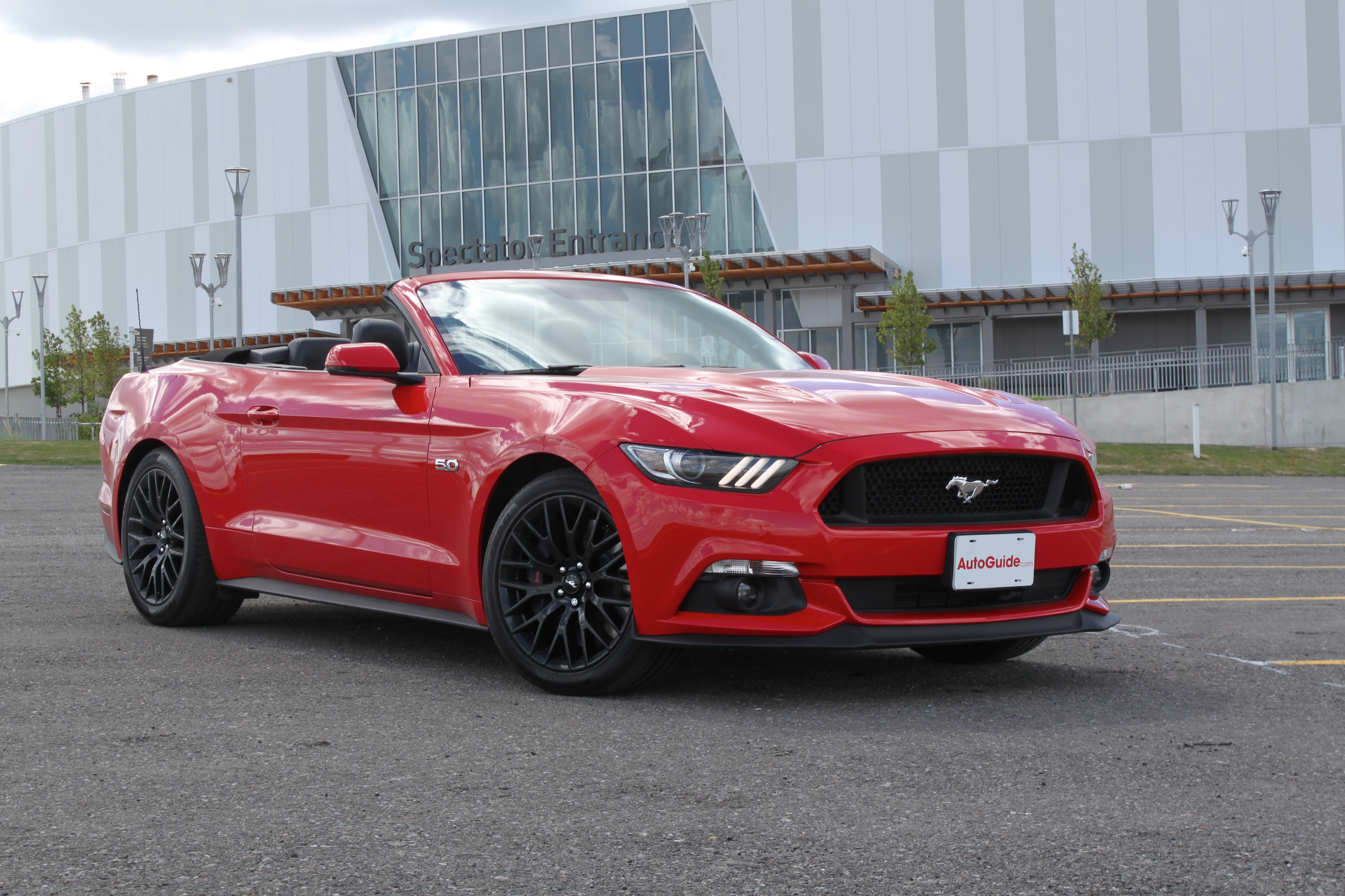 2017 Ford Mustang Gt Convertible Review Autoguide Com