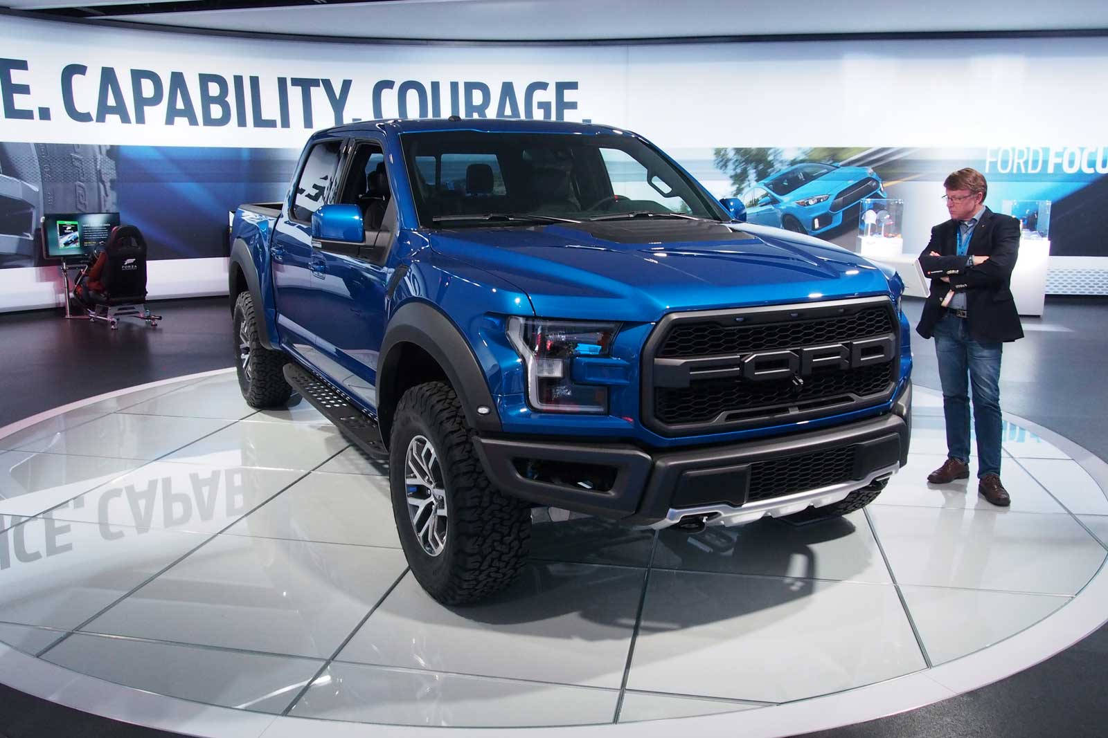 The ford raptor returns but without a v8