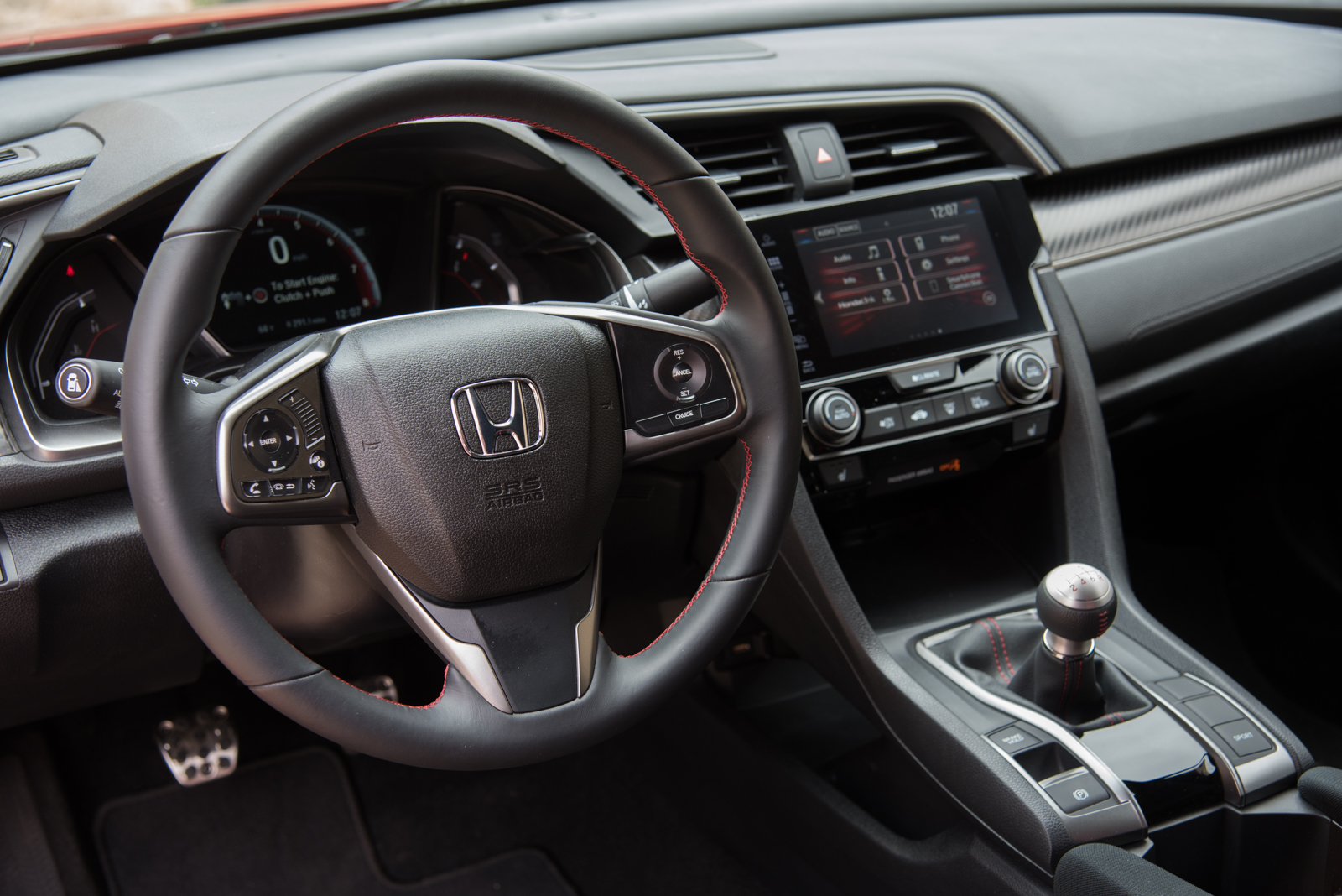 ... 2017 Honda Civic Si Interior 02 ...